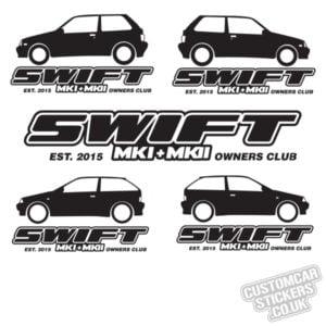 Mk1 & Mk2 Swift Owners Club